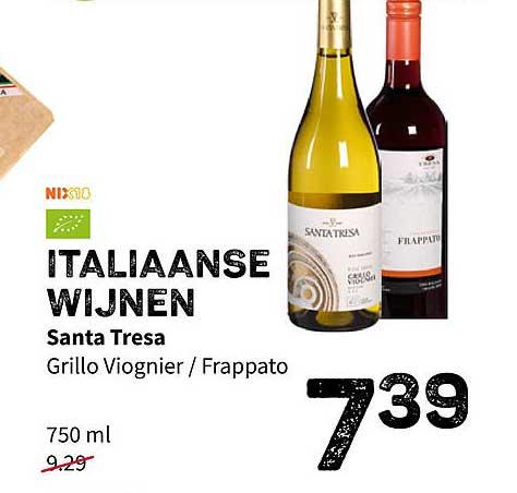 Ekoplaza Italiaanse Wijnen Santa Tresa