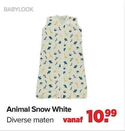 Baby-Dump Animal Snow White