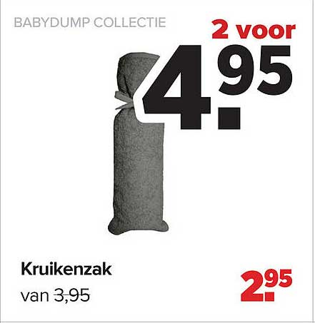 Baby-Dump Babydump Collectie Kruikenzak