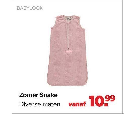 Baby-Dump Zomer Snake
