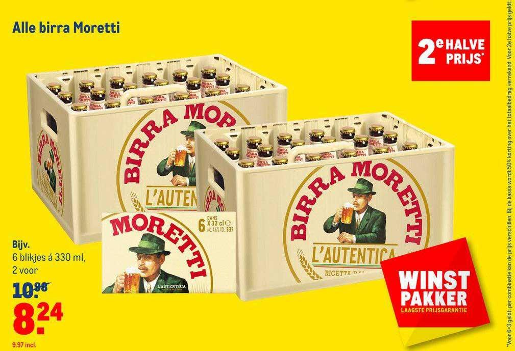 Makro Alle Birra Moretti