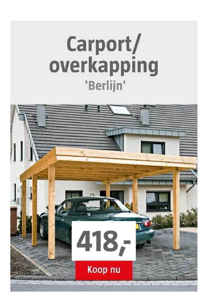 BAUHAUS Carport-Overkapping 'Berlijn'