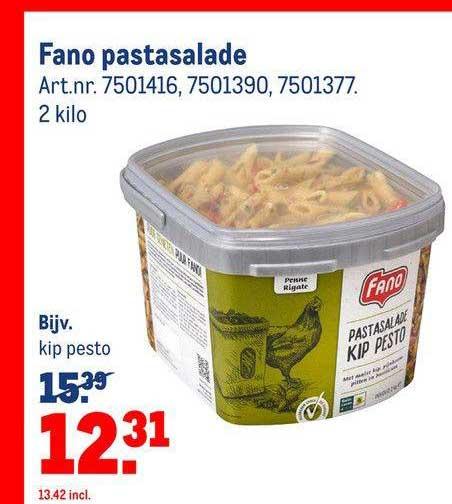 Makro Fano Pastasalade