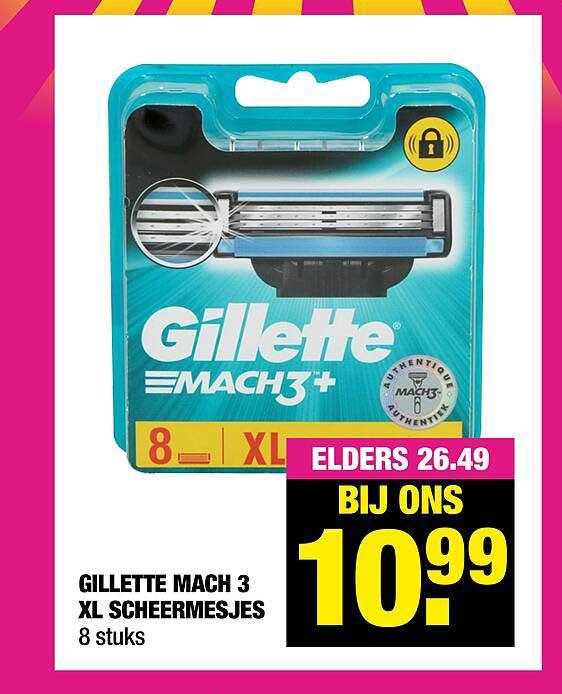 Big Bazar Gillette Mach 3 XL Scheermesjes