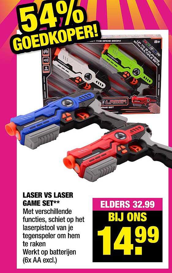 Big Bazar Laser Vs Laser Game Set