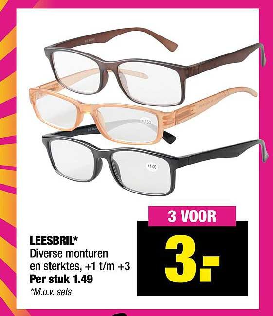 Big Bazar Leesbril