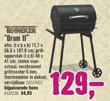 Hornbach Tenneker Grill