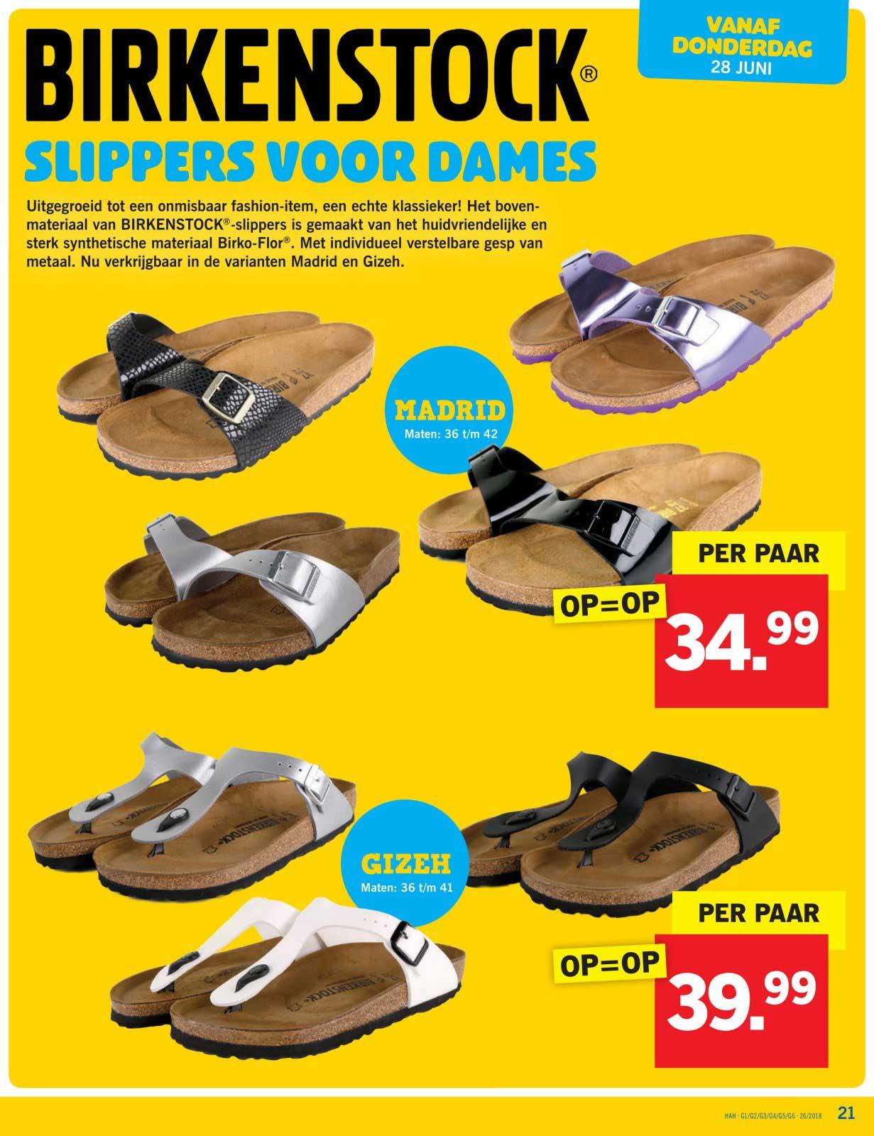 Birkenstock Slippers Voor Dames