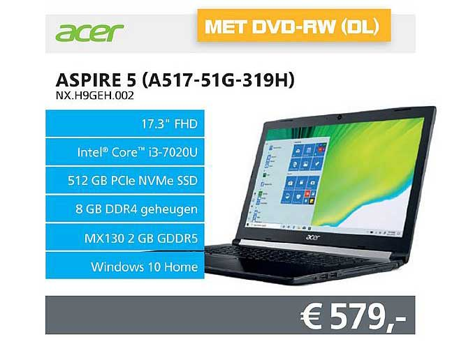 Informatique Acer Aspire 5 (A517-51G-319H)