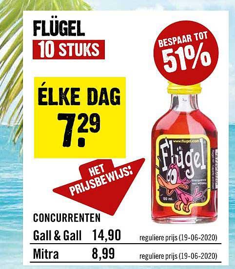 Dirck III Flugel 51% Korting
