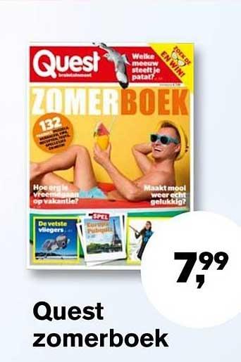 AKO Quest Zomerboek