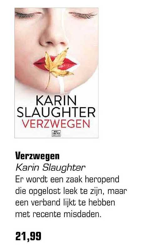 Primera Verzwegen Karin Slaughter