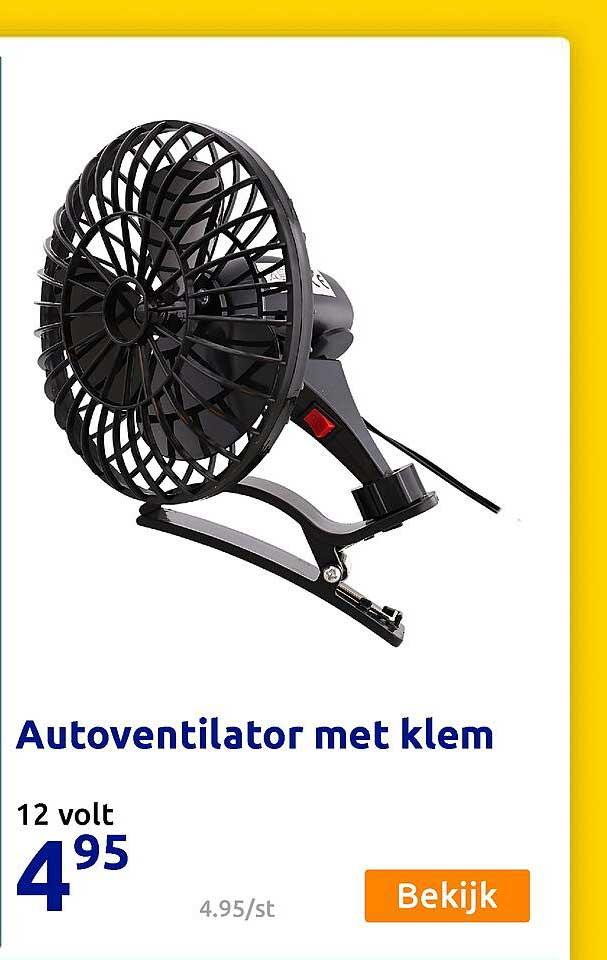 Action Autoventilator Met Klem