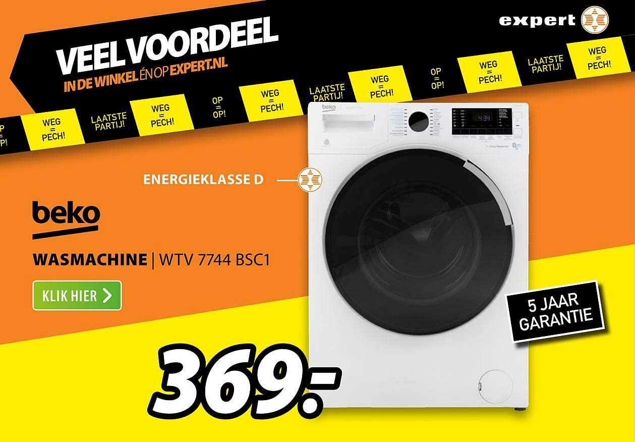 Expert Beko Wasmachine | WTV 7744 BSC1