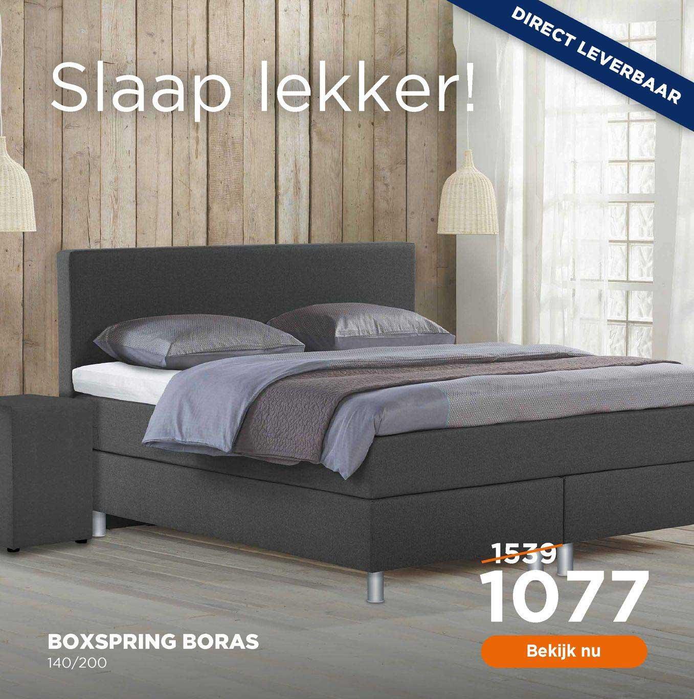 TotaalBED Boxspring Boras 140-200