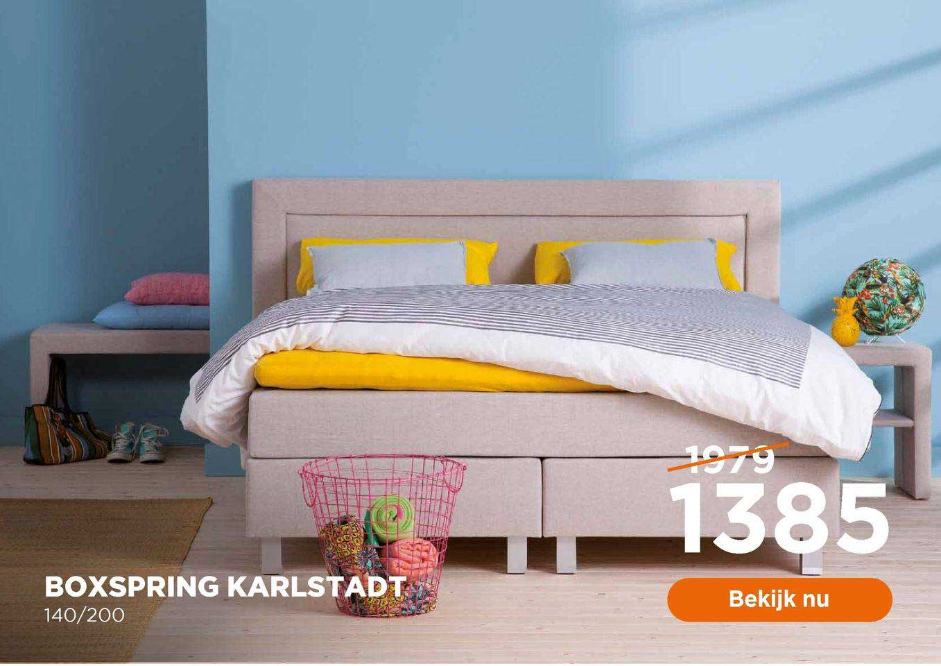 TotaalBED Boxspring Karlstadt 140-200