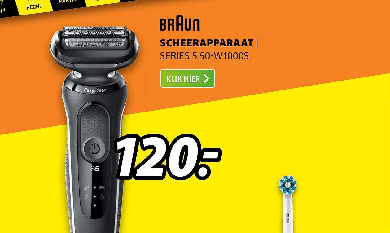 Expert Braun Scheerapparaat | Series 5 50-W1000S