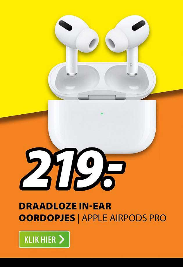 Expert Draadloze In-Ear Oordopjes | Apple Airpods Pro
