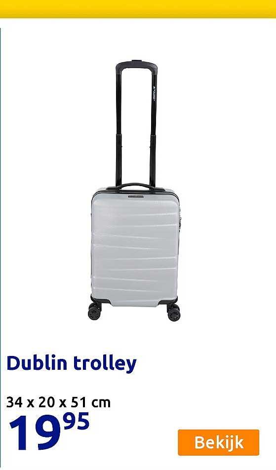 Action Dublin Trolley 34 X 20 X 51 Cm