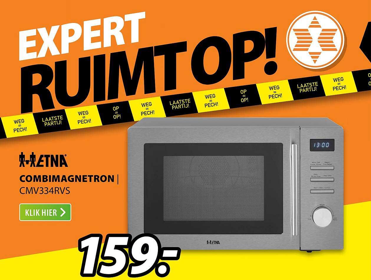 Expert ETNA Combimagnetron | CMV334RVS