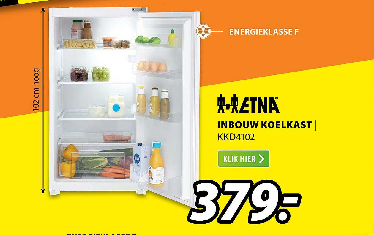 Expert ETNA Inbouw Koelkast | KKD4102