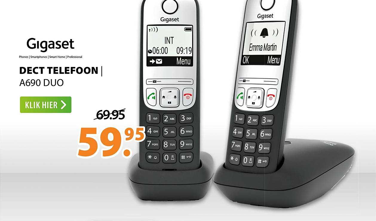Expert Gigaset Dect Telefoon | A690 Duo