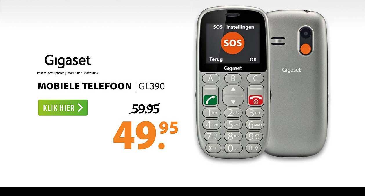 Expert Gigaset Mobiele Telefoon | GL390