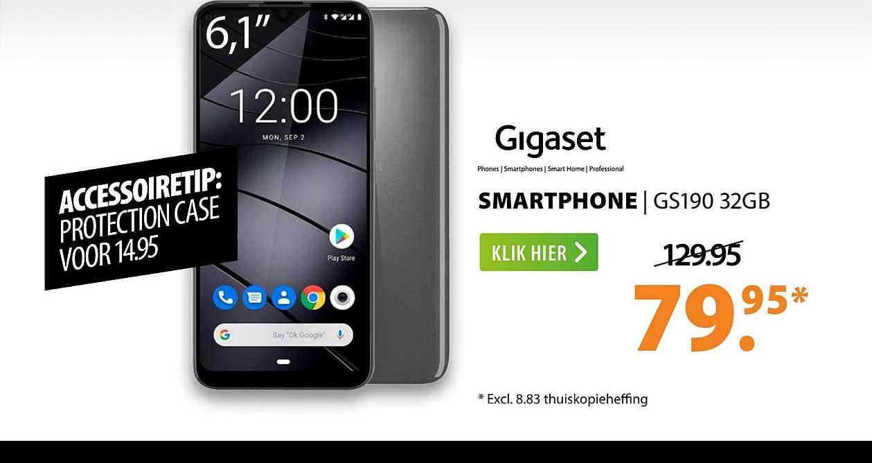 Expert Gigaset Smartphone | GS190 32GB