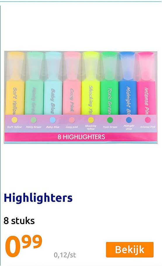 Action Highlighters