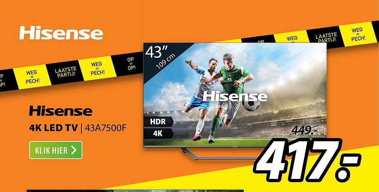 Expert Hisense 4K LED TV | 43A7500F