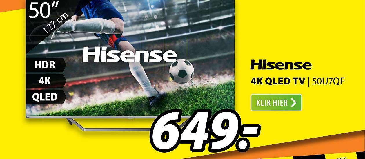 Expert Hisense 4K QLED TV | 50U7QF