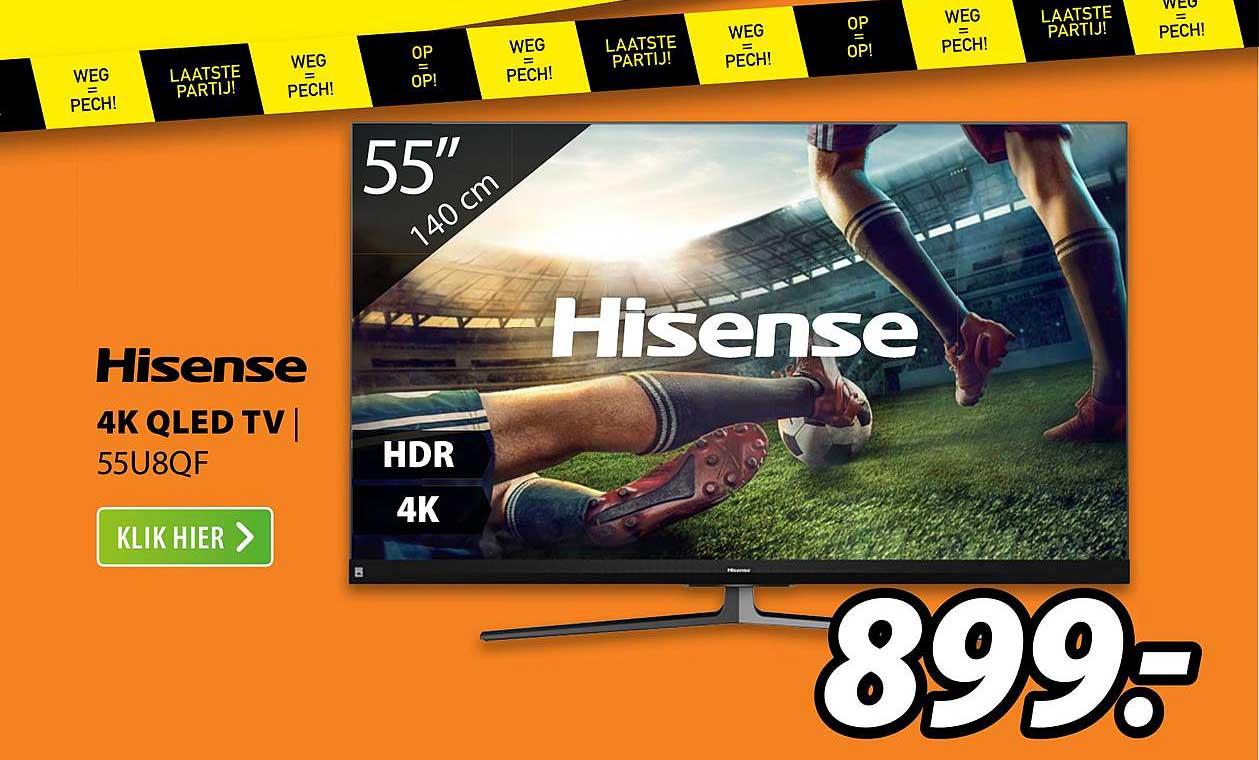 Expert Hisense 4K QLED TV | 55U8QF