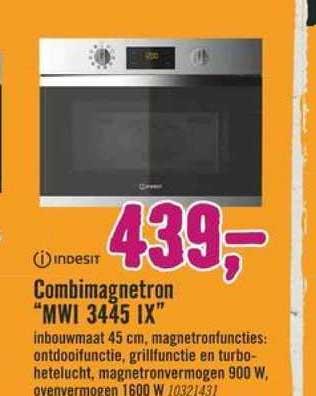 Hornbach Indesit Combimagnetron