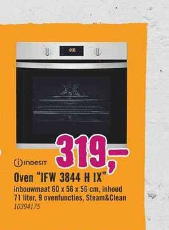 Hornbach Indesit Oven