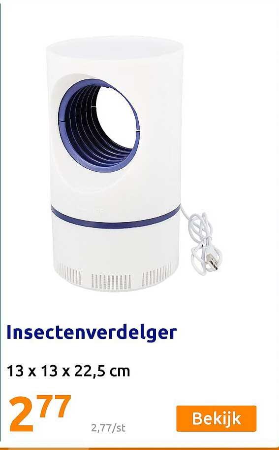 Action Insectenverdelger 13 X 13 X 22,5 Cm