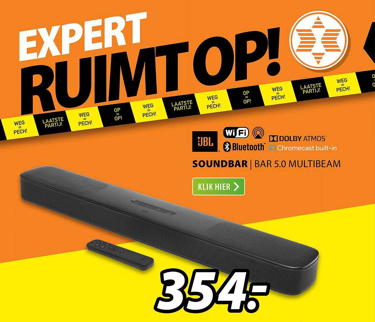 Expert JBL Soundbar | Bar 5.0 Multibeam