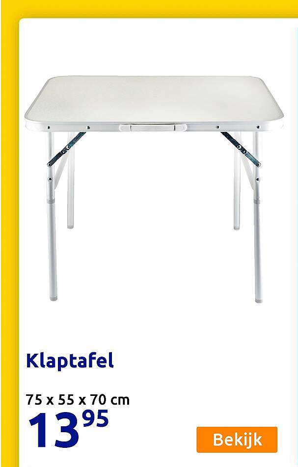 Action Klaptafel 75 X 55 X 70 Cm
