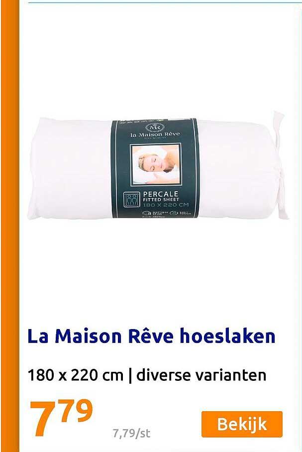 Action La Maison Rêve Hoeslaken 180 X 220 Cm