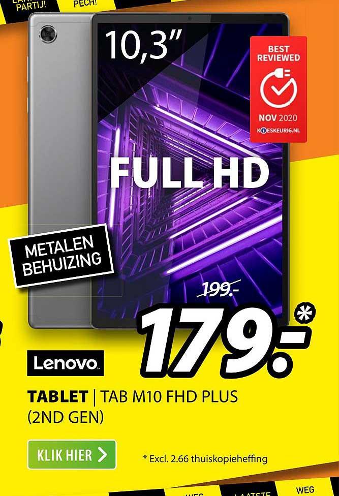 Expert Lenovo Tablet | TAB M10 FHD Plus (2nd Gen)
