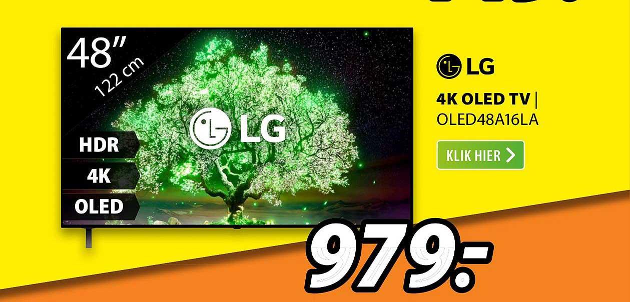 Expert LG 4K OLED TV | OLED48A16LA