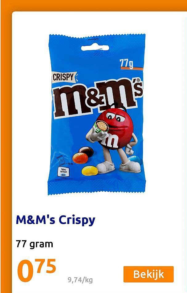Action M&M's Crispy