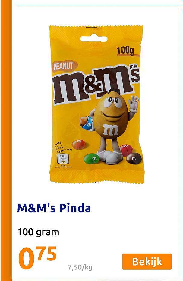 Action M&M's Pinda