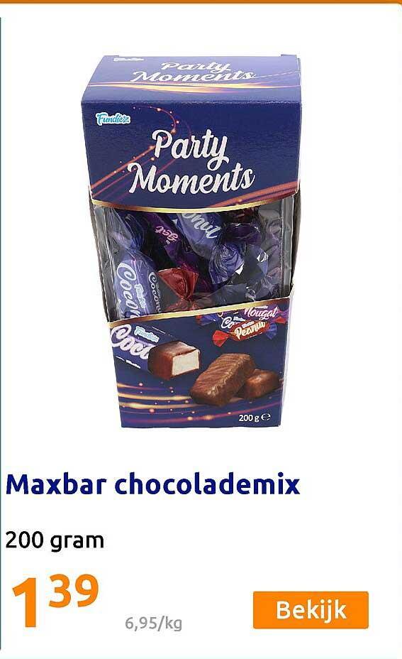 Action Maxbar Chocolademix
