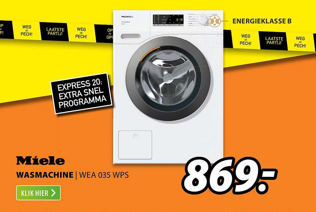 Expert Miele Wasmachine | WEA 035 WPS