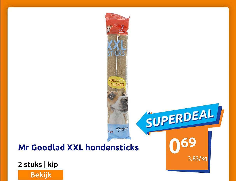 Action Mr Goodlad XXL Hondensticks