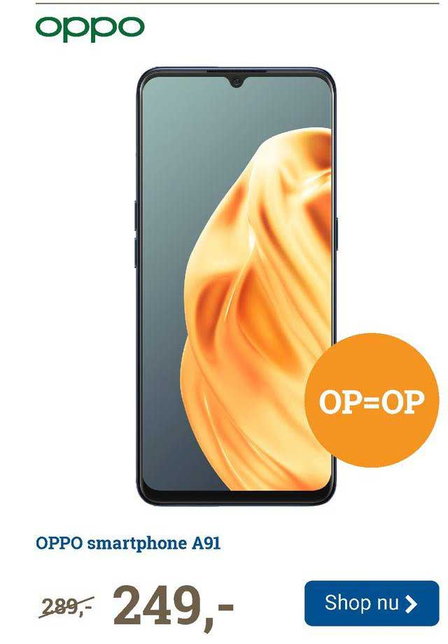 BCC Oppo Smartphone A91