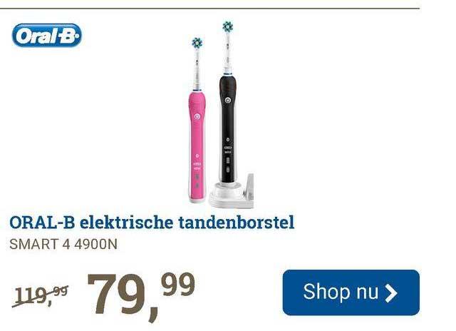 BCC Oral-B Elektrische Tandenborstel Smart 4 4900N
