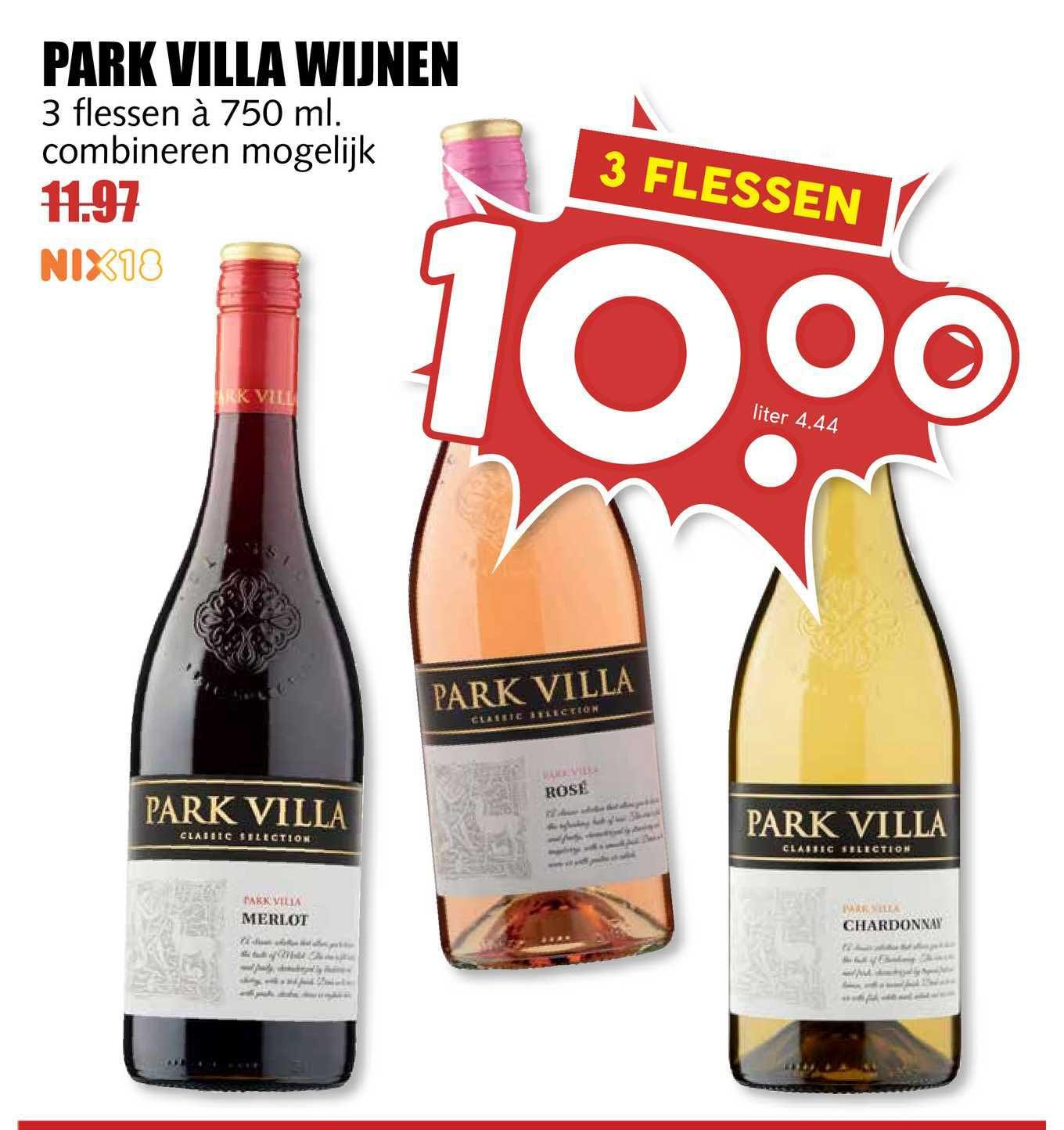 MCD Supermarkt Park Villa Wijnen