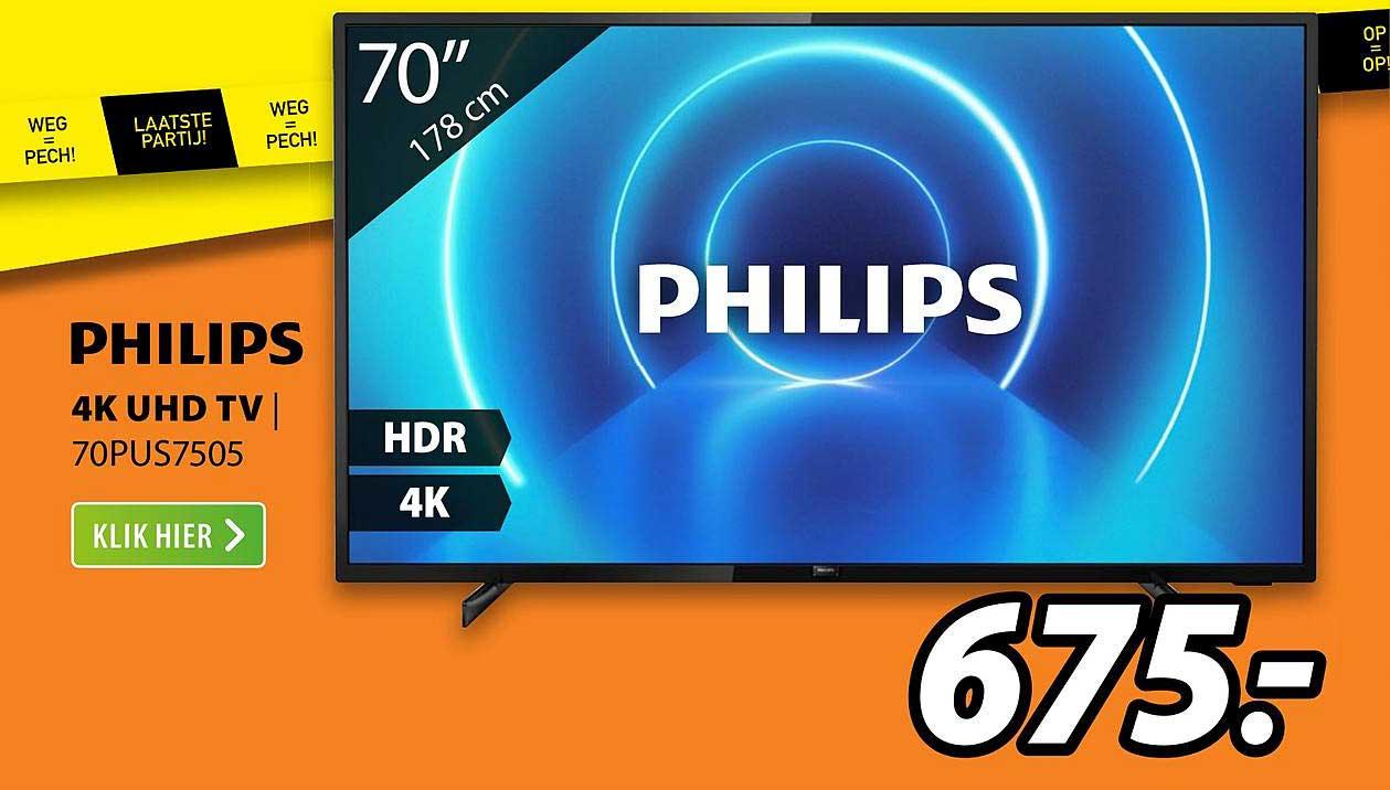 Expert Philips 4K UHD TV | 70PUS7505