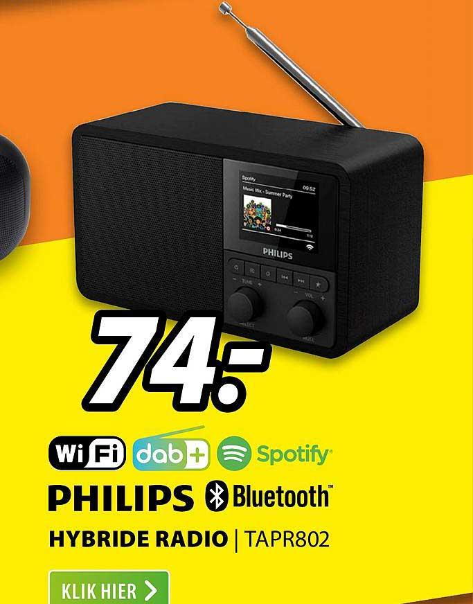 Expert Philips Hybride Radio | TAPR802